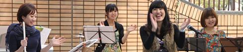 曽根妙子の「こころうた」音楽教室