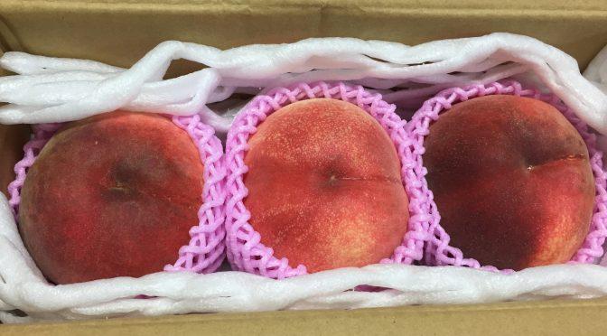7月ダブルチャンス「よもぎた果樹園」の桃