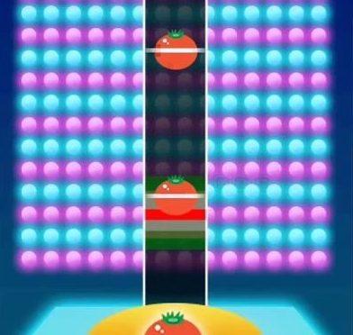 ミニゲーム「リズミカル・トマト」