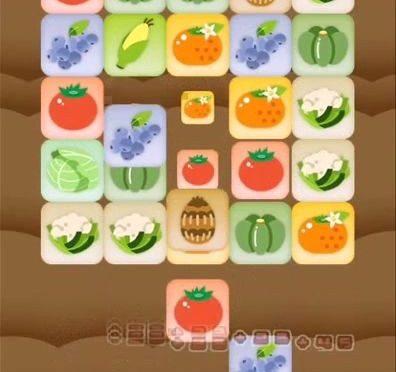 ミニゲーム「野菜収穫パズル」