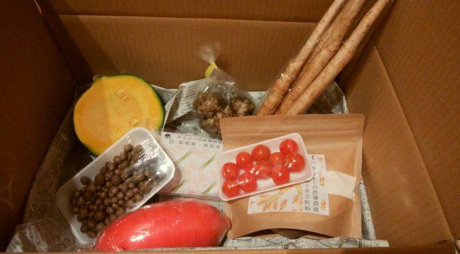おかもと自然薯農園野菜セットの感想2(2017年11月)